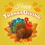 Thanksgiving greeting background Stock Photography