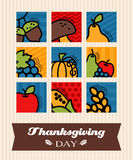 Thanksgiving greeting card Royalty Free Stock Photography
