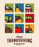 Thanksgiving greeting card Royalty Free Stock Image