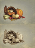 Thanksgiving greeting cards Royalty Free Stock Photography