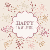 Thanksgiving greeting cards Stock Image