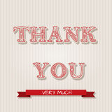 Thanksgiving greeting cards Royalty Free Stock Image