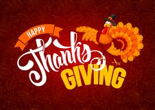 Thanksgiving day greeting Royalty Free Stock Photography