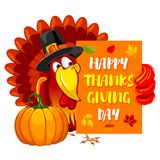 Thanksgiving day greeting Royalty Free Stock Images