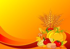 Thanksgiving / harvest background Stock Image