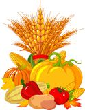 Thanksgiving / harvest design Stock Photos
