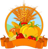 Thanksgiving Harvest Design Stock Photography