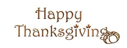 Thanksgiving heureux photo libre de droits