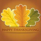 Thanksgiving heureux ! illustration stock