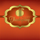 Thanksgiving heureux ! Photo libre de droits