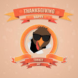 Thanksgiving heureux Photo libre de droits