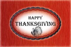 Thanksgiving heureux - carte images libres de droits