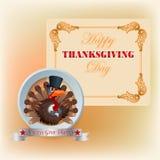 Thanksgiving heureux, fond de conception Photos libres de droits