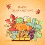 Thanksgiving holiday card Royalty Free Stock Photo