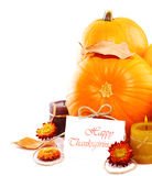 Thanksgiving Holiday Decoration Border Stock Photography