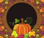 Thanksgiving holiday frame 1 Royalty Free Stock Photography