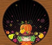 Thanksgiving holiday frame 2 Stock Photo