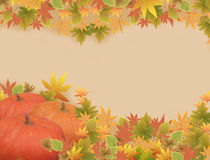 Thanksgiving holiday frame Royalty Free Stock Images