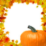 Thanksgiving holiday frame. EPS 8 Stock Images