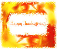 Thanksgiving holiday greeting card Stock Photos
