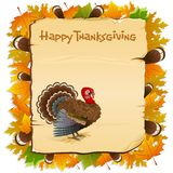 Thanksgiving Invitation Royalty Free Stock Photography