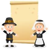 Thanksgiving Invitation Card Royalty Free Stock Image