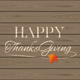 Thanksgiving lettering card Royalty Free Stock Photo