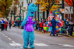 Thanksgiving Macy Parade 2016 Royalty Free Stock Image
