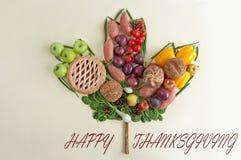 Thanksgiving maple leaf concept stock photos