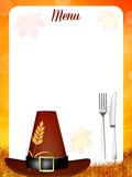Thanksgiving menu Stock Images