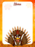 Thanksgiving menu Royalty Free Stock Image