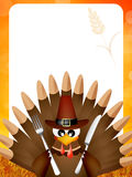 Thanksgiving menu Royalty Free Stock Images