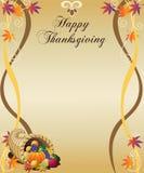 Thanksgiving Menu Royalty Free Stock Images