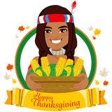 Thanksgiving Native American Royalty Free Stock Photo