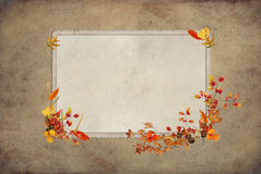 Thanksgiving Old Frame Stock Images