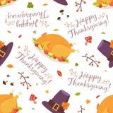 Thanksgiving pattern seamless pattern royalty free illustration