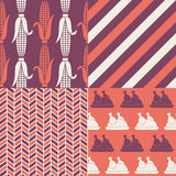 Thanksgiving patterns Royalty Free Stock Photography