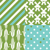 Thanksgiving patterns Stock Photography