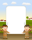 Thanksgiving Photo Frame [5] Royalty Free Stock Image