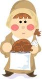 Thanksgiving Pilgrim 2 Stock Photo