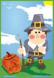 Thanksgiving Pilgrim Stock Photos