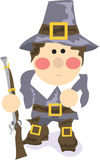Thanksgiving Pilgrim Royalty Free Stock Images