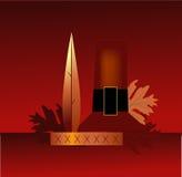 Thanksgiving Pilgrim Decoration royalty free illustration