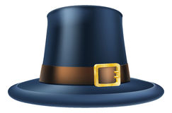 Thanksgiving pilgrim hat Royalty Free Stock Photos