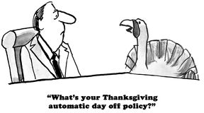 Thanksgiving Policy Stock Image
