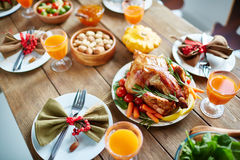 Thanksgiving poultry Royalty Free Stock Photo