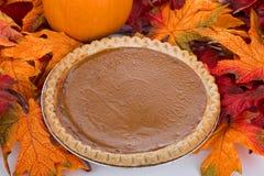 Thanksgiving Pumpkin Pie Royalty Free Stock Photography