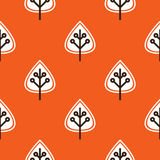 Thanksgiving red seamless pattern Stock Photos