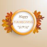Thanksgiving Ring Foliage Royalty Free Stock Image