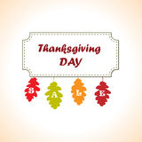 Thanksgiving sale banner Stock Images